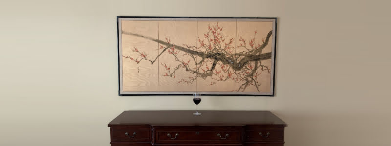 Japanese art? Antique buffet? Glass of red wine? Dr. McKee uses as an example about thought process with TMJ classifications.