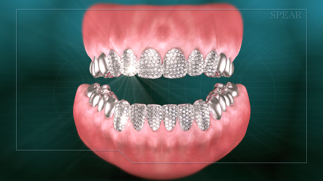 gem-encrusted restorative dentistry