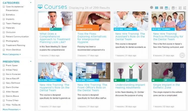 dental continuing education topics