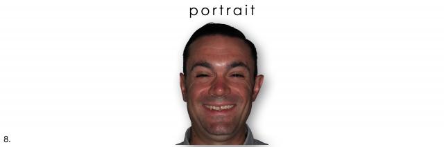 dental photography portrait composure