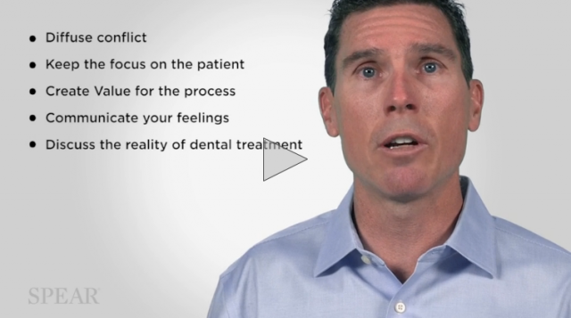 working with patients that choose to delay dental treatment