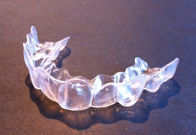 Orthodontic plastic full coverage