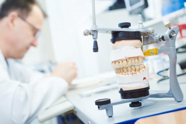 vertical articulator dental lab