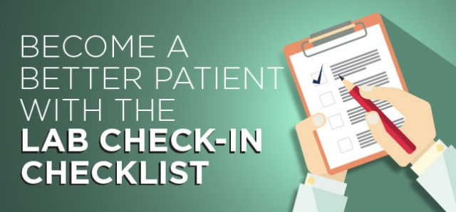 lab check-in checklist
