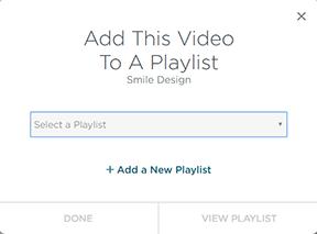 Add to playlist