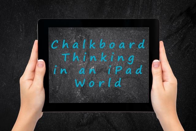 chalkboard thinking figure 4