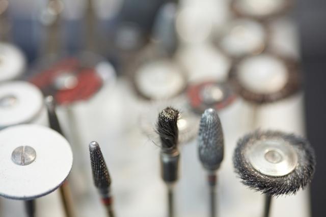 Examples of dental burs