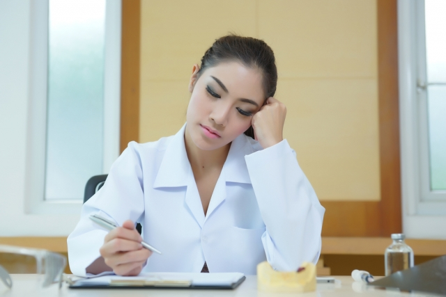 Burnout can cause ethical issues in dentistry