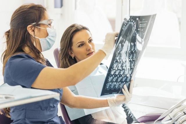 dental radiographs diagnosis