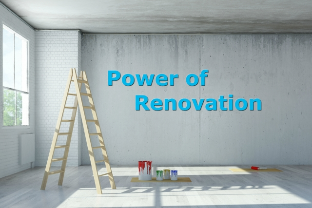 Dental practice success through renovation