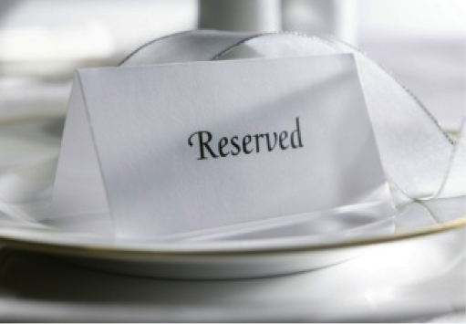 how to make a reservation at a restaurant