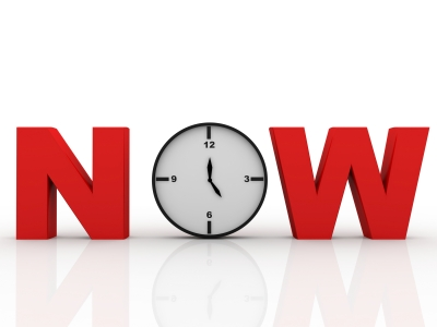 Why 'Now' is More Important Than Ever