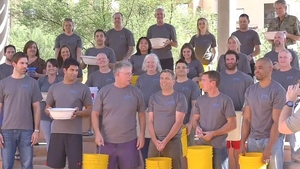 The Spear ALS Ice Bucket Challenge