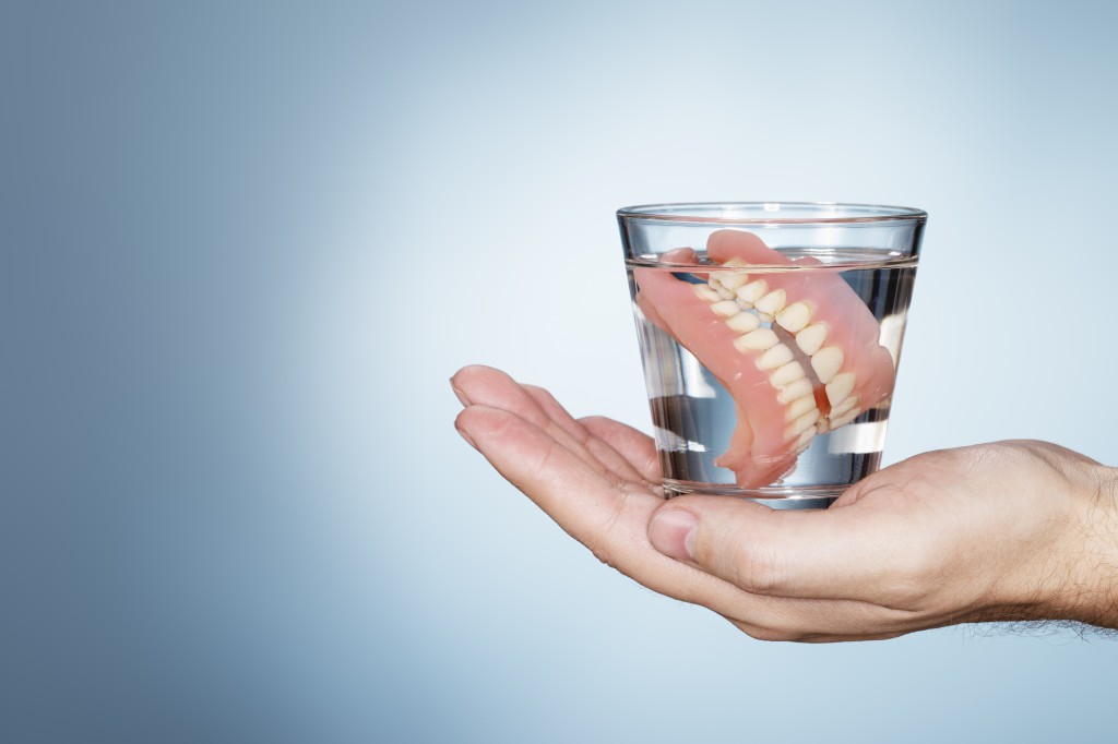 Study: Wearing Dentures at Night Raises Pneumonia Risk in Seniors