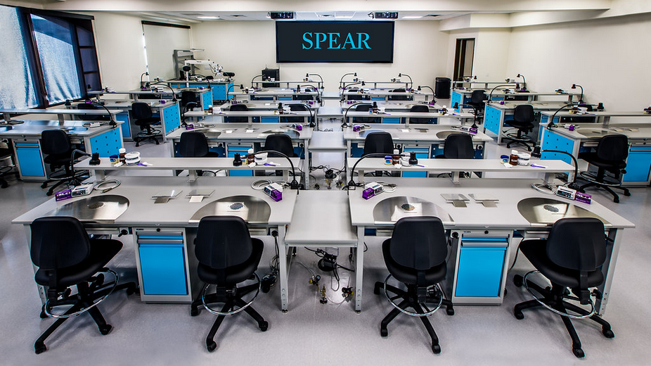 Spear Debuts New Lab for Advanced Workshops