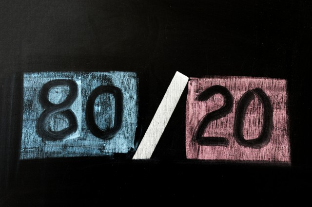 Another Look at 'The 80/20 Rule' in Dental Practices