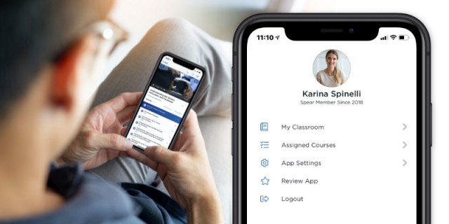 Download Courses, Study Offline and Empower Your Team with Spear Online Mobile App